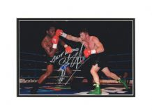 Steve Collins Autograph Signed Photo